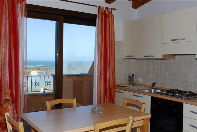 offene Küche Mietobjekt Appartement 92818 Valledoria