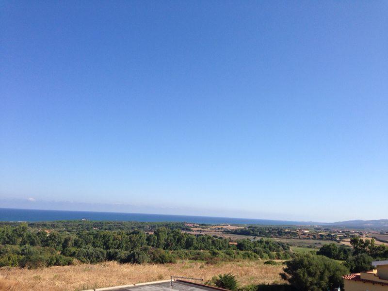 Ausblick von der Terrasse Mietobjekt Appartement 92818 Valledoria