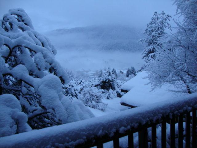 Ausblick vom Balkon Mietobjekt Chalet 84818 La Clusaz