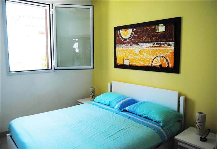 Schlafzimmer 1 Mietobjekt Villa 78071 San Foca