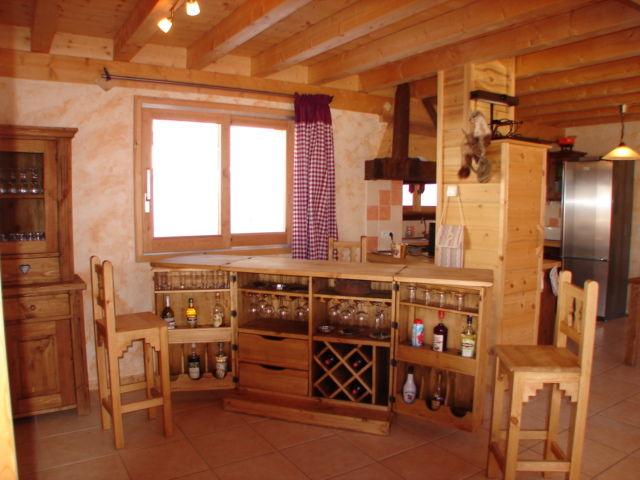 offene Küche Mietobjekt Chalet 16141 Châtel