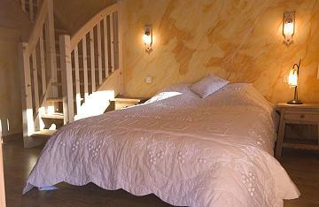 Schlafzimmer 1 Mietobjekt Chalet 16141 Châtel
