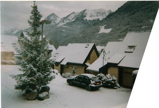 Ausblick aus der Ferienunterkunft Mietobjekt Appartement 26451 Cauterets
