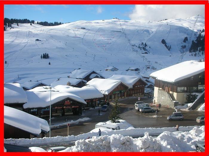 Ausblick vom Balkon Mietobjekt Studio 2694 Les Saisies