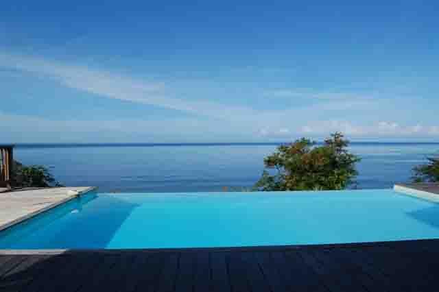 Ausblick aus der Ferienunterkunft Mietobjekt Villa 27882 Pointe Noire
