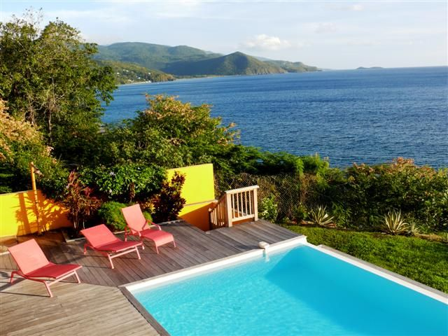 Ausblick vom Balkon Mietobjekt Villa 27882 Pointe Noire