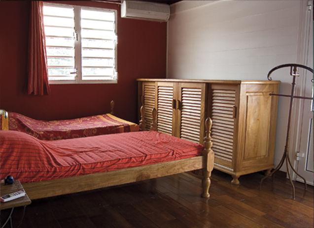 Schlafzimmer 4 Mietobjekt Villa 27882 Pointe Noire