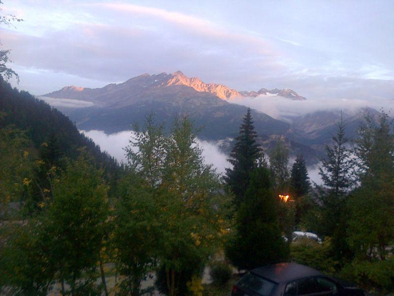 Ausblick aus der Ferienunterkunft Mietobjekt Chalet 3290 Valfréjus