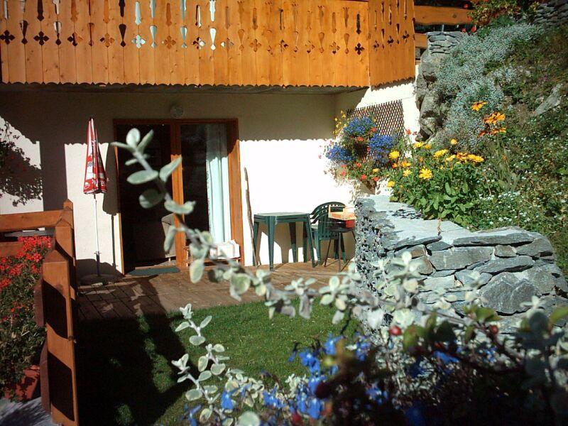 Garten Mietobjekt Chalet 3291 Valfréjus