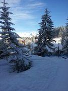 Ausblick aus der Ferienunterkunft Mietobjekt Appartement 330 Les Arcs