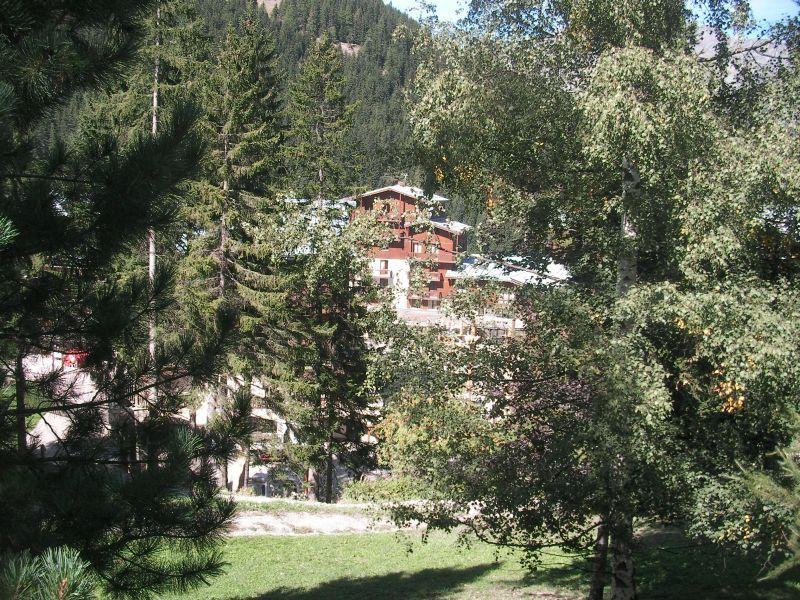 Ausblick aus der Ferienunterkunft Mietobjekt Chalet 3300 Valfréjus