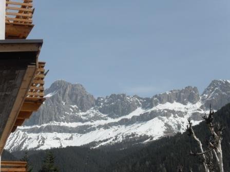Ausblick aus der Ferienunterkunft Mietobjekt Appartement 38385 Carezza