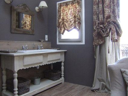 Badezimmer Mietobjekt Ferienunterkunft auf dem Land 38926 Carcassonne