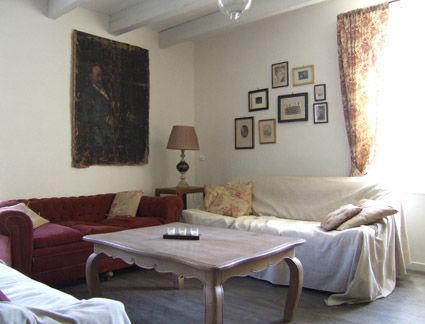Wohnzimmer Mietobjekt Ferienunterkunft auf dem Land 38926 Carcassonne