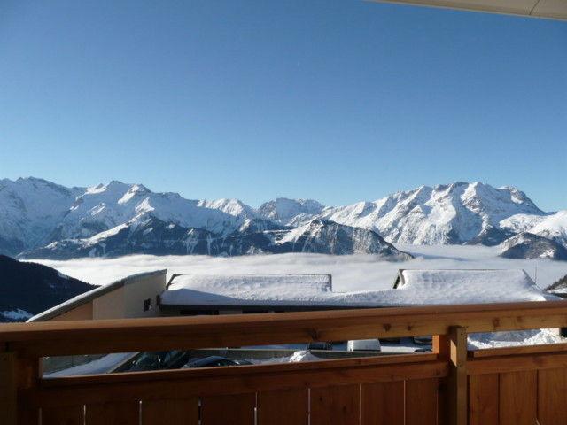 Ausblick vom Balkon Mietobjekt Studio 38943 Alpe d'Huez