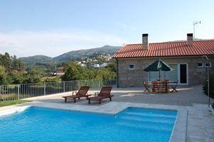 Schwimmbad Mietobjekt Ferienunterkunft auf dem Land 40725 Vieira do Minho