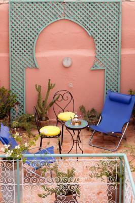 Terrasse Mietobjekt Haus 41194 Marrakesch