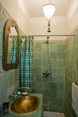 Badezimmer Mietobjekt Haus 41194 Marrakesch