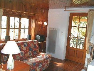 Wohnzimmer Mietobjekt Chalet 4531 La Bresse Hohneck