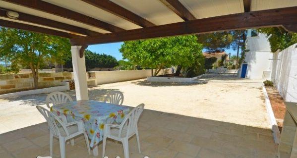 Ausblick aus der Ferienunterkunft Mietobjekt Haus 45348 Pescoluse