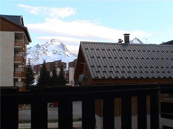 Terrasse Mietobjekt Appartement 49434 Les 2 Alpes