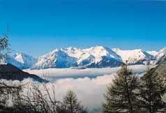 Ausblick aus der Ferienunterkunft Mietobjekt Appartement 50 Alpe d'Huez