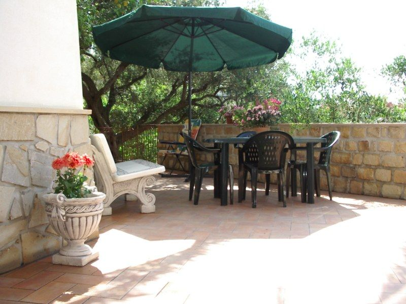 Terrasse Mietobjekt Villa 54358 Capo d'Orlando