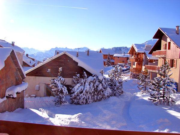 Ausblick aus der Ferienunterkunft Mietobjekt Chalet 57805 Montgenevre