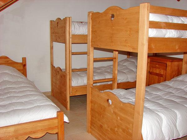Schlafzimmer 2 Mietobjekt Chalet 57805 Montgenevre