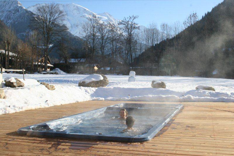 Schwimmbad Mietobjekt Appartement 58587 Saint Gervais Mont-Blanc