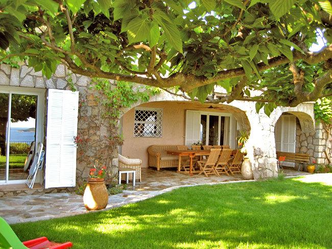 Ausblick von der Terrasse Mietobjekt Villa 59191 Ste Lucie de Porto Vecchio