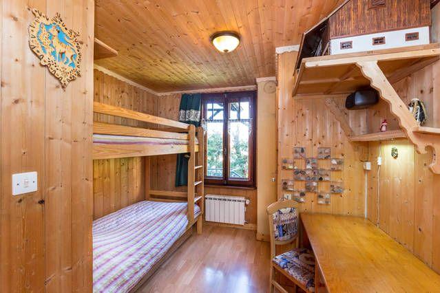 Schlafzimmer 2 Mietobjekt Appartement 647 Chamonix Mont-Blanc