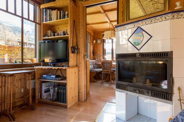 Wohnzimmer Mietobjekt Appartement 647 Chamonix Mont-Blanc