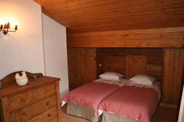 Schlafzimmer 2 Mietobjekt Chalet 930 Les Contamines Montjoie