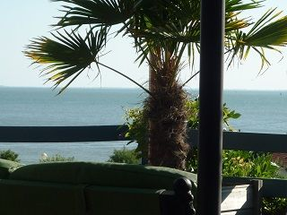 Ausblick aus der Ferienunterkunft Mietobjekt Villa 9477 Pornic