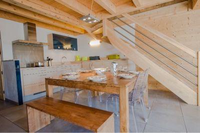 offene Küche Mietobjekt Appartement 68749 Tignes