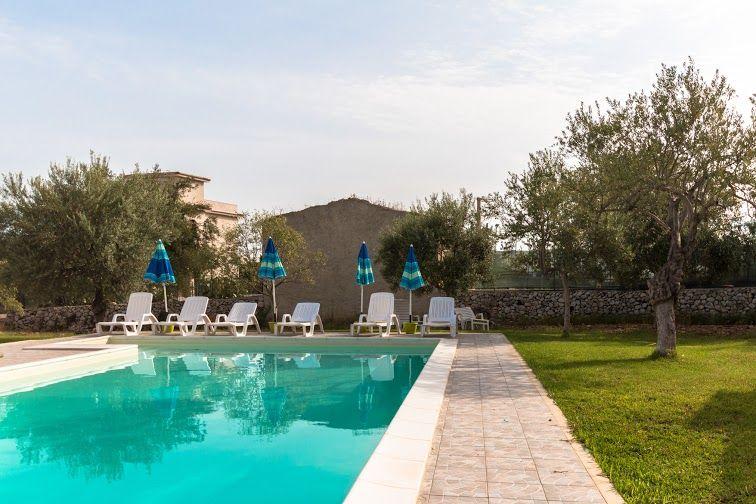 Schwimmbad Mietobjekt Villa 79539 Avola