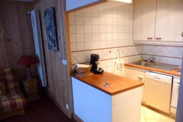 offene Küche Mietobjekt Appartement 67695 Tignes