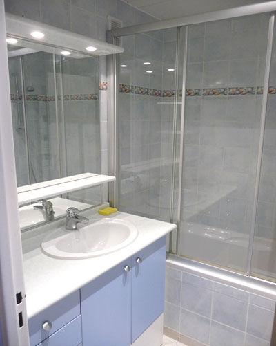 Badezimmer Mietobjekt Appartement 67695 Tignes