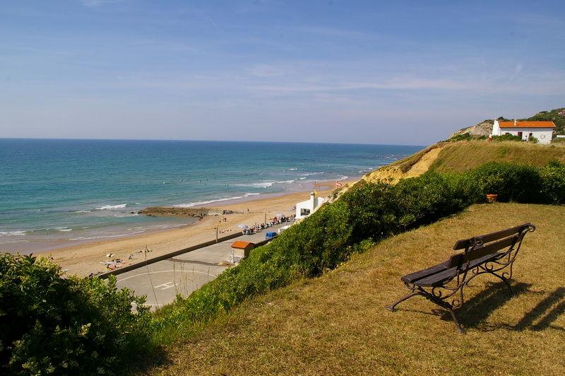 Ausblick aus der Ferienunterkunft Mietobjekt Appartement 67987 Biarritz