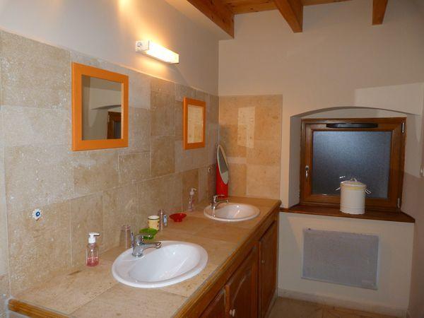Badezimmer Mietobjekt Ferienunterkunft auf dem Land 81031 Sangatte/Blériot-Plage