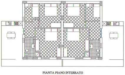 Grundriss des Objektes Mietobjekt Haus 67481 Castellammare del Golfo