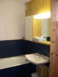 Badezimmer Mietobjekt Appartement 245 Les Arcs