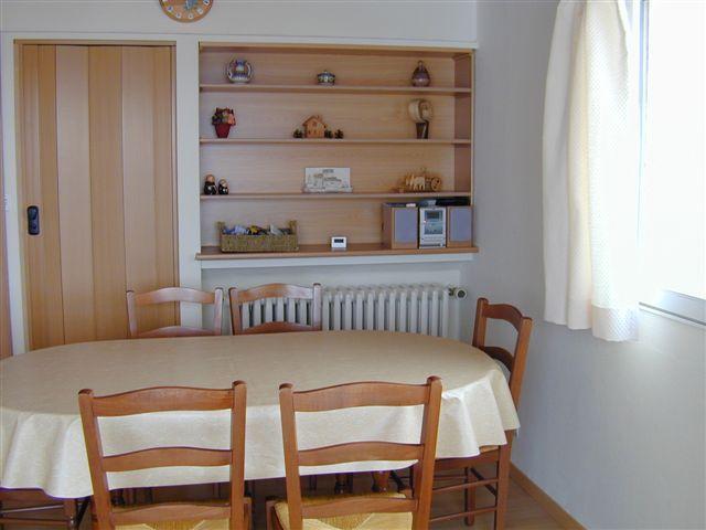 Esszimmer Mietobjekt Appartement 64 Alpe d'Huez