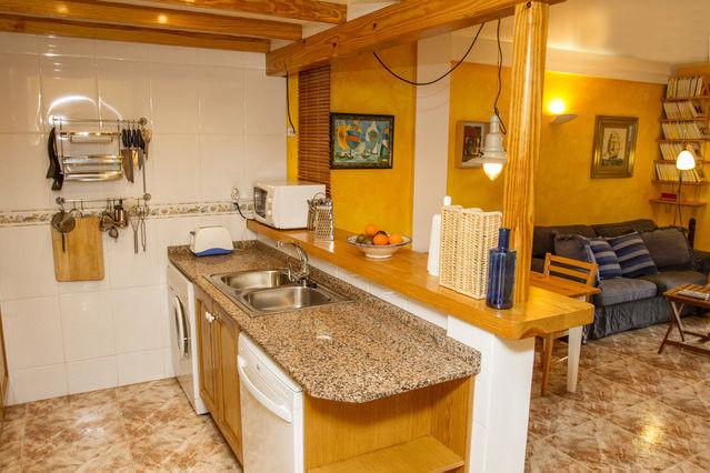 offene Küche Mietobjekt Appartement 76203 Dénia