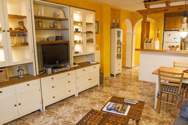 Wohnzimmer Mietobjekt Appartement 76203 Dénia