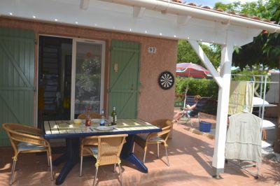 Ausblick von der Terrasse Mietobjekt Haus 102219 Valras-Plage