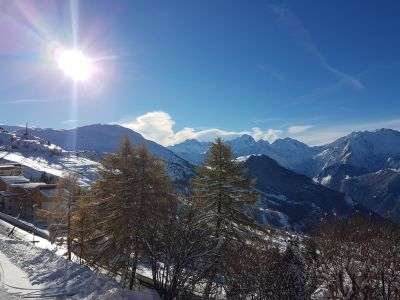 Ausblick vom Balkon Mietobjekt Appartement 107207 Alpe d'Huez