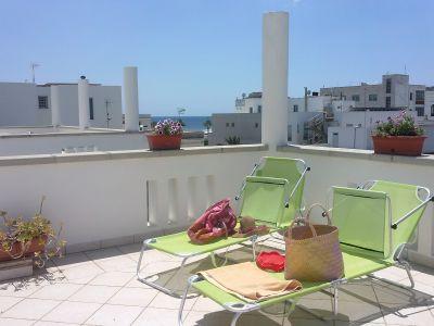 Terrasse Mietobjekt Appartement 109843 Santa Maria di Leuca