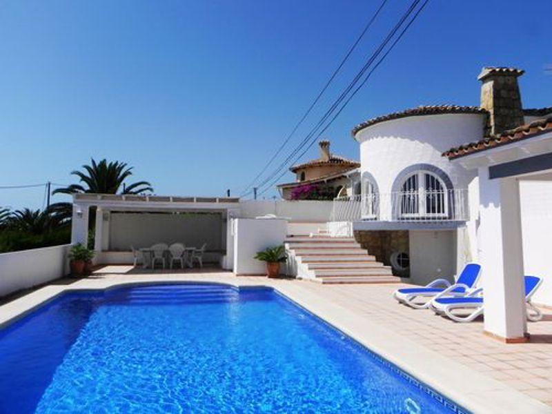 Schwimmbad Mietobjekt Villa 114094 Calpe
